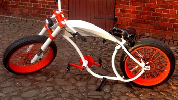 Электровелосипед E-Bike Orange Custom