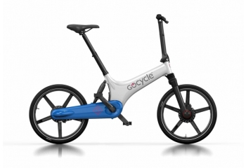 Электровелосипед Gocycle GS White/Blue