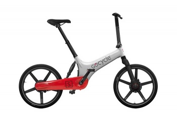 Электровелосипед Gocycle GS White/Red