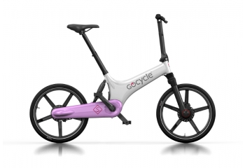 Электровелосипед Gocycle GS White/Pink