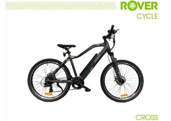 Электровелосипед ROVER Cross Grey-blue
