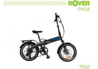 Электровелосипед ROVER Fold Grey-blue