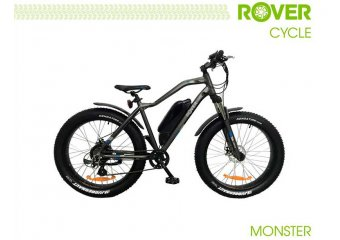 Электровелосипед ROVER Monster Grey-blue