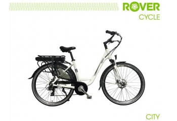 Электровелосипед ROVER City White