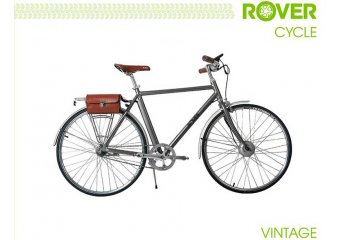 Электровелосипед ROVER Vintage Brushed alu