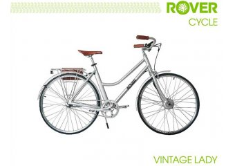 Электровелосипед ROVER Vintage Lady Brushed alu